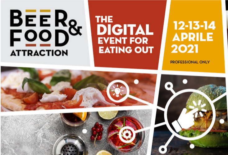 Beer&Food Attraction, the Digital Event for eating out  Professional Only